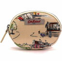 Cath Kidston キャスキッドソン 小銭入れ OVAL COIN PURSE BILLIE GOES TO TOWN