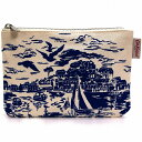 Cath Kidston キャスキッドソン ポーチ PLACEMENT POUCH HARBOUR VIEW