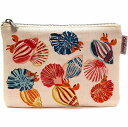 Cath Kidston キャスキッドソン ポーチ PLACEMENT POUCH SEASIDE SHELLS