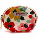 Cath Kidston キャスキッドソン 小銭入れ COIN PURSE LARGE PAINTED PANSIES