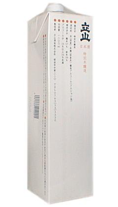 立山 ≪特別本醸造≫ 1200mlパック 【RCP】02P12Oct15