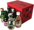 富山の地酒 いやしの薬箱(180ml瓶×6本セット)父の日、母の日、敬老の日、お誕生日等の贈り物や富山のお土産としてもオススメです(地酒 日本酒 セット 富山)02P27May16