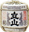 【送料無料】銀嶺立山 吟醸菰樽 1.8L詰