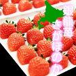 【送料無料】北海道産 「銀龍苺 さがほのか」(約300g / 16〜30粒入り)イチゴ/高級/化粧箱/個包装/母の日ギフトおすすめ【代引き不可】