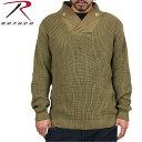 ショッピングWii 【割引クーポン対象品】ROTHCO ロスコ 米軍WWIIメカニックセーター カーキ 第二次世界大戦当時アメリカ軍のメカニックが使用していたセーターの復刻版です。/ ミリタリー 春