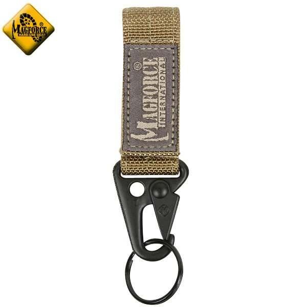 【20%OFF大特価】MAGFORCE マグフォース MF-1703 Belt Key Holder Tan 【キーホルダー】《WIP》 ミリタリー 男性 ギフト プレゼント