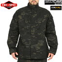 TRU-SPEC/トゥルースペック Tactical Response Uniform ジャケット MultiCam Black マルチカムブラック 《WIP》10P05Nov16【クーポン対象外】[Px] 【送料無料】 ミリタリー 秋 冬 服 男性 春 ギフト プレゼント