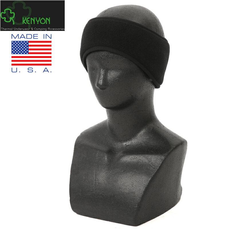 新品 KENYON製 米軍使用 イヤーバンド BLACK《WIP》 ミリタリー ギフト プレゼント【クーポン対象外】