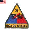 新品 米軍 U.S.ARMY 第二機甲師団パッチ(ワッペン)《WIP》ミリタリー 軍物 メンズ 男性 ギフト プレゼント