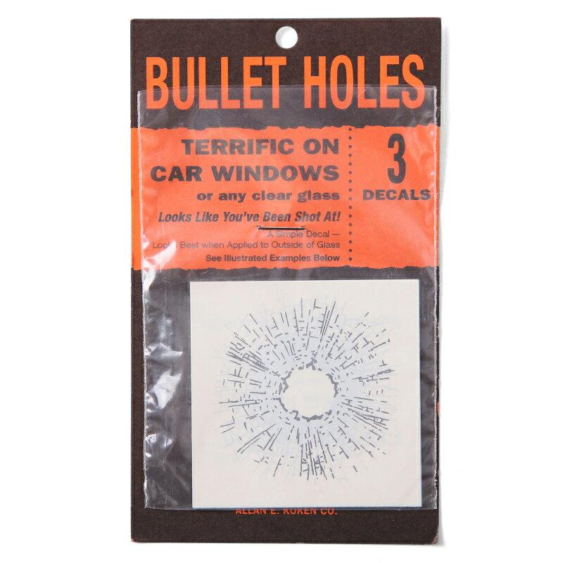 15%OFFクーポン対象商品BULLETHOLES(銃弾跡)ステッカー3枚セット小物シールステッカー