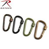 ROTHCO ロスコ 80MM LOCKING カラビナ《WIP》 メンズ ミリタリー アウトドア キャンプ カラビナ アクセサリー キーホルダー キーリング バッグ ベルトループ ロープ レジャー トレッキング サバイバルゲーム サバゲー 装備品 ギフト プレゼント