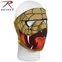 【20%OFF】ROTHCO ロスコ リバーシブル フェイスマスク Cobra/コブラ 【2217】 ミリタリー フェイスマスク 顔面保護 スポーツ サバイバルゲーム《WIP》 男性 ギフト プレゼント