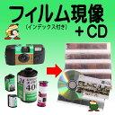 ネガフィルム現像+CD書込み