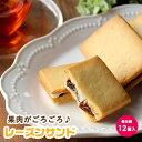 【訳あり】 果肉がごろごろ♪ レーズンサンド 12個セット[...