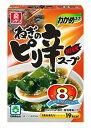 リケン わかめスープ ねぎのピリ辛スープ ファミリーパック 8袋 賞味期限2019.07.03
