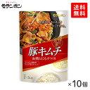 [送料無料][10個]モランボン 韓の食菜 豚キムチ180g 賞味期限2020.09.04以降