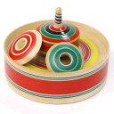 クルクルクルクル 追っかけ独楽 山形県の木地玩具