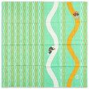 芸艸堂 むかしはなしふろしき 桃太郎 75cm綿風呂敷 Unsoudou Wrapping cloth of Japan old tale, Momotarou