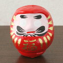 Vicissitudes of fortune, mascot fortune Dharma doll 3 (papier-mache) red of the achievement of prayer