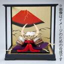 高岡鋳物 Takaoka-imono ケース入り戦国武将兜 武田信玄公 Takeda Shingen コンパクトながら格調高いケース入り金属製兜飾り