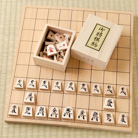 天童将棋駒 将棋盤セット 職人による手書き将棋駒と折盤のセット Tendou-shougikoma Shogi board set