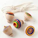 九州の独楽5個セット 福岡県の木工品 Kyusyu top set, Koma, Fukuoka crafts
