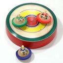 はっけよ〜い! 相撲独楽 台付き(小) 山形県の木地玩具