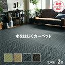 畳 純国産 置き畳 上敷き PPカーペット バルカン アウトドア 江戸間 2畳 約174×174cm 正方形