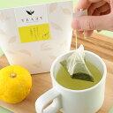★新商品★【TEAET フレーバーグリーンティー[大隅ゆず] 3g×6包】鹿児島茶 深蒸し茶 オリジナル茶 ティーエット