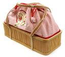 浴衣に!送料無料♪【ちぃと遊ばんせ】竹カゴバッグ「舞妓さんバッグ(ピンク)」【n3pu0319】【0319n3p】【n3sm0319】