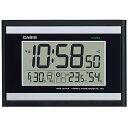 カシオ CASIO 生活環境お知らせ機能 日付・温湿度表示 電波時計 IDL-100J-1JF(掛け時計)