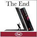 ( あす楽 ) ブックエンド おもしろ デザイン シルエット エンド 【 FRED / フレッド 】 The End Bookend おもしろ文具 文房具 雑貨 海外 珍しい 写真集 洋書 ディスプレイ インテリア 置物 オブジェ / WakuWaku