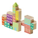 置物 おしゃれ ブロッキテクチャー デコ ファクトリー 【 AREAWARE / エリアウエア 】Blockitecture Deco Factory 木製 建築 模型 デザイン アーキテクト ビル 建物 ブロック 好き プレゼント オブジェ 工場 / WakuWaku