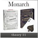 ( あす楽 ) トランプ プロ 仕様 マジック マジシャン デック 【 theory11 セオリー 11 イレブン 】monarch playing cards...