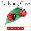 ( あす楽 ) てんとう虫 コンタクト ケース レディーバグコンタクトケース 【 KIKKERLAND / キッカーランド 】Ladybug Contact Case 海外 プレゼント おもしろ雑貨 カラコン ケース かわいい 目立つ 人気 プレゼント おしゃれ 赤 緑 ★ WakuWaku