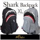 【 あす楽 】【 即納 】【送料無料】 リュックサック バックパック 大きめ ビック サイズ 鮫 サメ 形 Shark Backpack XL シャーク バック...