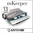 ( あす楽 ) ( 送料無料 ) 13インチ PCケース ノート パソコン ケース Mac Macbook pro air 13 inch ジャスト おしゃれ 人気 機能的 便利 クッション エムキーパー バック【 CAPDASE / キャプターゼ 】 mKeeper Shoulder Bag / WakuWaku