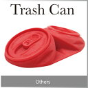 ( あす楽 ) ドアストッパー 空き缶 缶 Trash can Door stopper トラッシュカンドアストッパー おもしろ雑貨 シリコン おもしろい デザイン レッド つぶれた缶 ゴム 薄い コンパクト 空缶ドアストッパー ★文房具、デザイン雑貨のWakuWaku