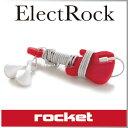 ( あす楽 ) コードホルダー ギター イヤホン コード巻き 整理 エレクトロック コードホルダー 【 Rocket / ロケット 】 Electrock cord wrap ギターネック 便利 ヘッドフォン コード 収納 おしゃれ ケーブル 長い / WakuWaku