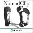 ( あす楽 ) カラビナ ノマドクリップ Lightning USB ケーブル Apple 公認 NomadClip 【NOMAD】キーホルダー 充電 ケーブル iPhone6 iPhone6S アイフォン データ 転送 短い コンパクト デザイン ライトニングケーブル アウトドア プレゼント WakuWaku
