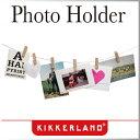( あす楽 ) マグネット ワイヤー クローズピンフォトホルダー 【 KIKKERLAND / キッカーランド 】Clothespin Photo Holder...