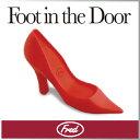 ( あす楽 ) ドアストッパー ハイヒール かわいい おしゃれ 収納 海外 人気 【Fred/フレッド】 FOOT IN THE DOOR DOORSTOP 珍しい デザイン レッド ショップ 玄関 プレゼント ギフト 靴 シューズ 人気 / WakuWaku