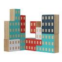 置物 おしゃれ ビル 建物 ブロック ブロッキテクチャー 【 AREAWARE / エリアウエア 】Blockitecture 木製 建築 模型 デザイン アーキテクト ビルディング 創造力 物理 好き プレゼント 教育 海外 建築家 オブジェ / WakuWaku