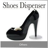 ハイヒール シューディスペンサー ブラック 黒 Shoes Dispenser Black おしゃれ テープカッター テープ ディスペンサー スコッチ マスキング テープ カッター