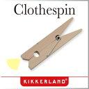 ( あす楽 ) クリップ 木製 光る LED クローズピンクリップライト 【 KIKKERLAND / キッカーランド 】 Clothespin Clip Li...