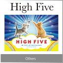 ( あす楽 ) メッセージカード セット 封筒 付き 動物 ハイタッチ バースデーカード 誕生日 High Five 楽しい 誕生会 バースディ カード 人気 デザイン おしゃれ キティ 猫 キャット / WakuWaku
