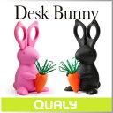 ( あす楽 ) ハサミ はさみ 鋏 かわいい ウサギ 便利 クリップ ホルダー デスク バニー 【 QUALY / クオーリー 】 DESK BUNNY デスク オブジェ インテリア 置物 プレゼント にも おもしろ文具 雑貨 かわいい 文具 / WakuWaku