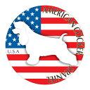 アメリカンコッカースパニエル 横向きグッズ ステッカーまる 《Lサイズ》 ステッカー シール デカール シルエット 車 カー シール デカール 犬 いぬ イヌ シルエット 影 リア アクセサリー ステッカー 車 バイク スーツケース 給油口 ステッカー