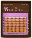 新製品 まつげエクステ [NEICHA] W−アイラッシュ MIXタイプ 0.1 Cカール ミニ6列 /ゆうメール発送送料無料/マツエク/アイラッシュ/ボリューム【まつげエクステ】【まつエク】【セルフエクステ】