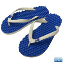 Massage sandals Souls (soul) of beach sandal sole massage effect great Australia blue molar D lesbian / flag unisex [tomorrow easy correspondence]